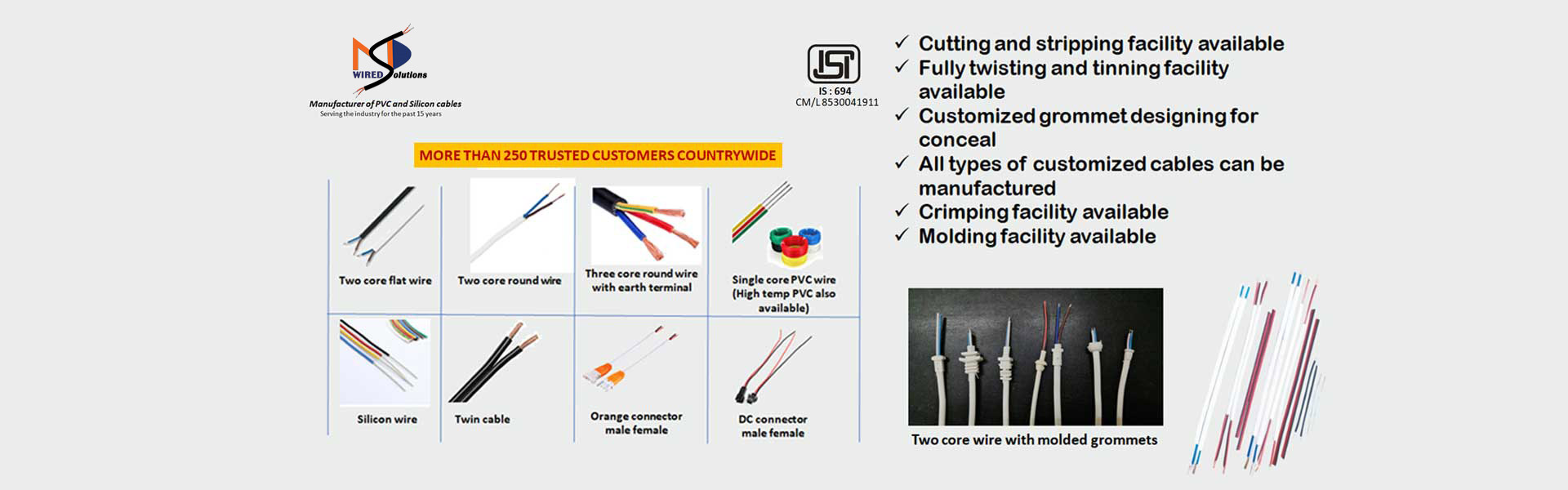 Custom Wire Manufacturers